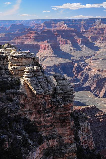 Ausblick  bei Grand Canyon Village