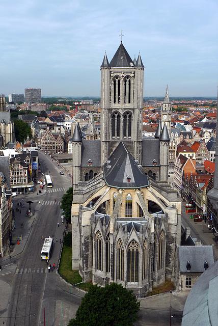 Gent Sint-Niklaaskerk from Belfort1