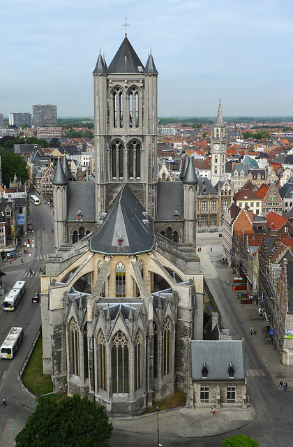 Gent Sint-Niklaaskerk from Belfort 3