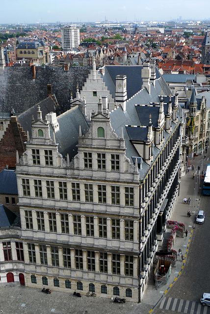 Gent Cloth Hall from Belfort 1