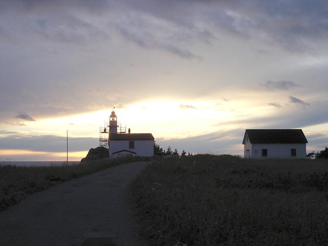 Terre-Neuve- Newfoundland. Canada -  20 septembre 2005 .  Côte Ouest. West coast.