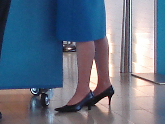 Typical KLM high heels / Talons hauts typiques de KLM