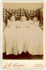 The Baker Triplets, Dillsburg, Pa., 1898