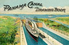 Panama Canal Drawing Book, 1914