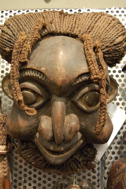 Masko de afrikanino