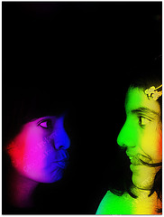 Sisters rainbows