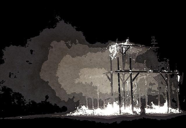 The Temple Burn (1355)