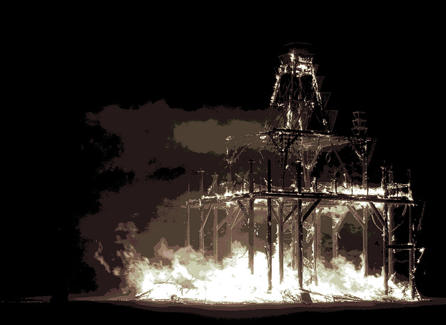The Temple Burn (1448)