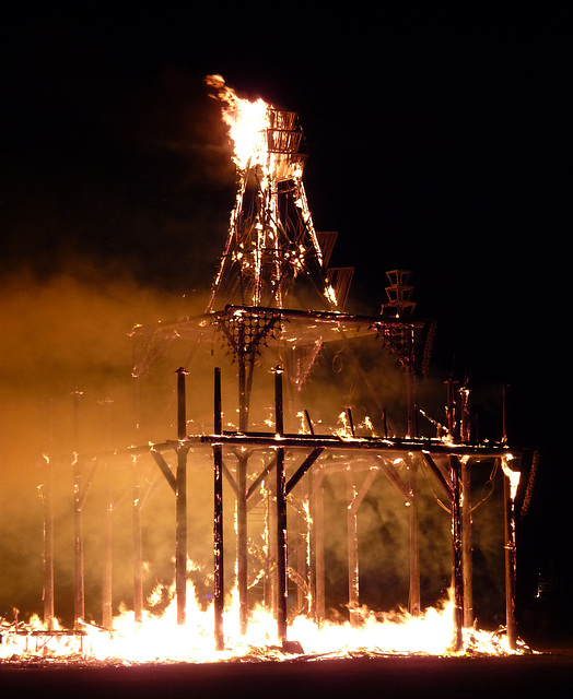 The Temple Burning (1347)