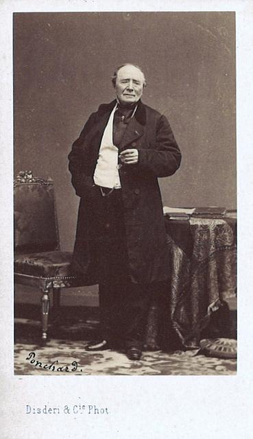 Louis-Antoine-Eléonore Ponchard by Disdéri