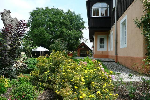 Garten des Ferienhauses von 1886
