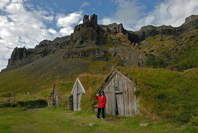 Barn huts near Selfoss