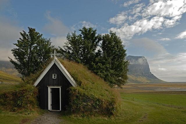 Very small chapel near Selfoss