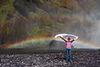 Skogafoss rainbow