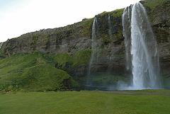 Waterfall near Pykkvabaejarklaustur