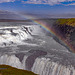 Gullfoss, the golden waterfall in southern Iceland