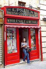 Malta, Valetta, sweet shop