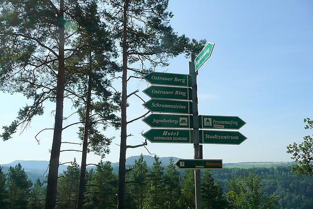 Ostrau - Spaziergang - promenado - promenade - walk -