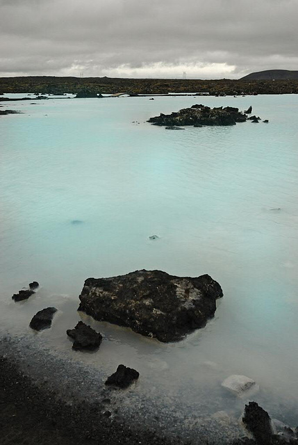 The Blue Lagoon outside
