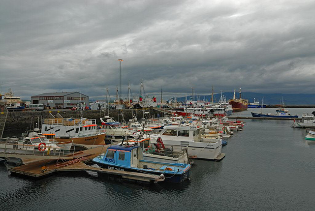 The Old Harbour of Reykjavik