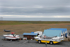 Tour amphibian vehicles for a Jökulsárlón excursion
