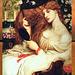 Lady Lilith, œuvre de Dante Gabriel Rossetti