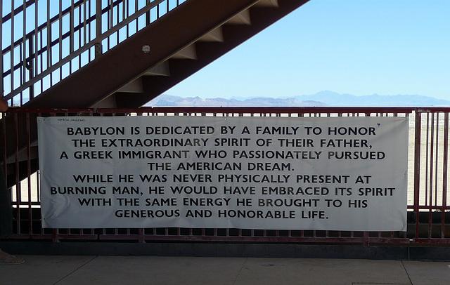 Babylon Banner (1063)