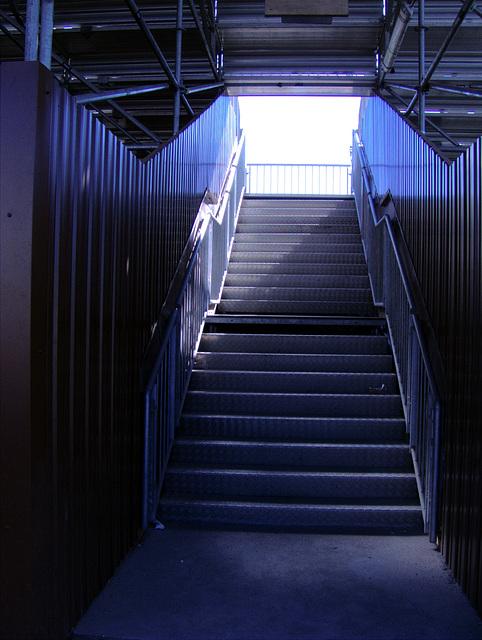 Treppe in die Hölle