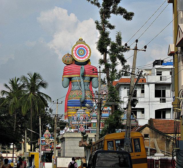 Giant Hanuman