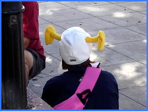 Silly ear hat / Tête excentrique - Disney Horror pictures show - Orlando, Florida- USA / 30 décembre 2006