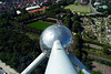 Brussels Atomium view from 2