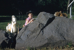 Holding Down the Fort at Big Rocks: Dale Evans, Jr., Buttermilk, and Lassie