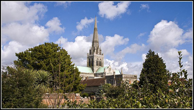 Cathedral Gardens Chichester
