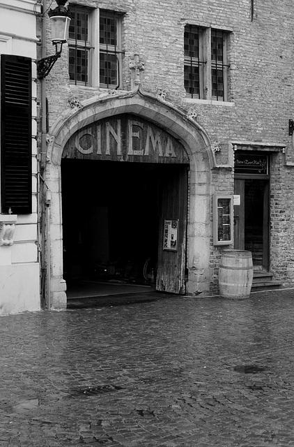 Bruges Cinema 1 Monochrome