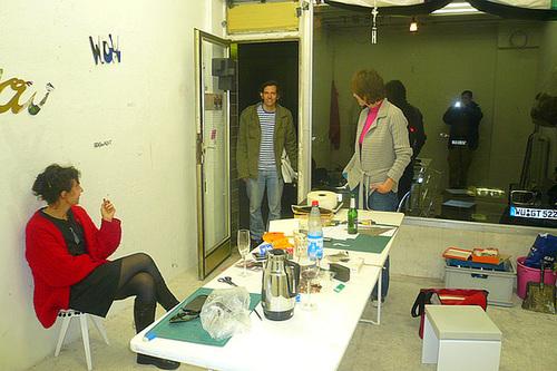 Produzentensozietät im Wagnerraum Oktober 2008