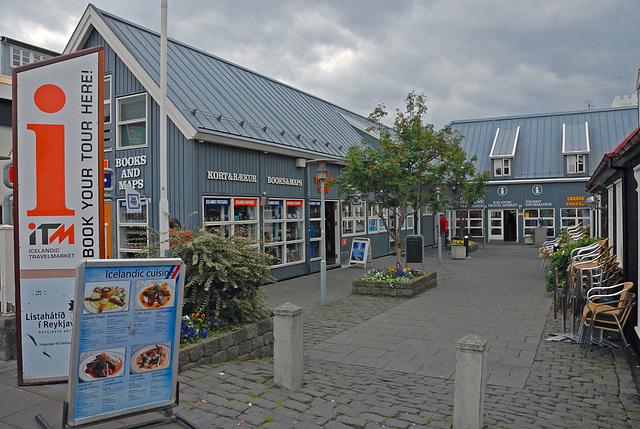 Typical idyllic restaurants in Reykjavik