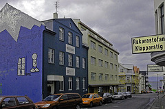 Downtown in Reykjavik