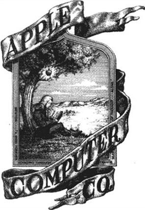 Tout-premier logo Apple [avant 1976]