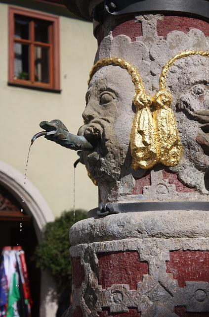 Der Herrnbrunnen bei der Franziskanerkirche