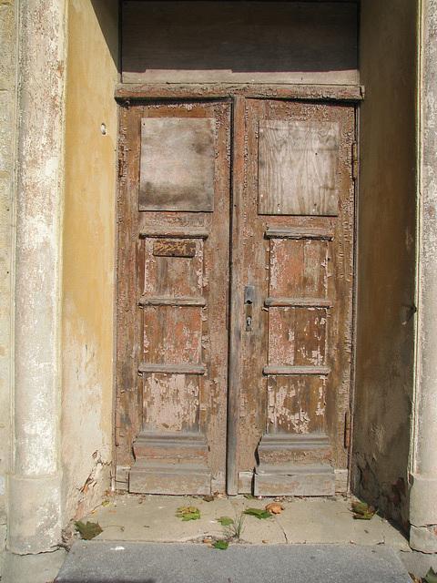Berufsschul-Tür