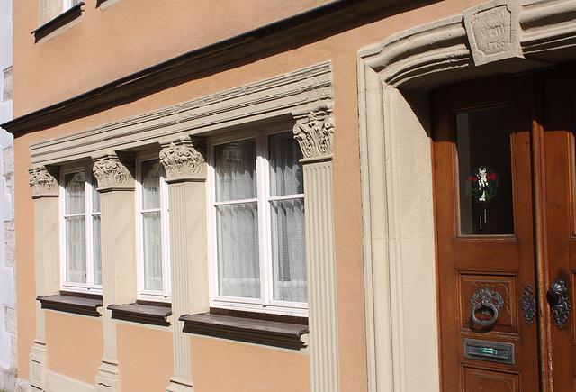 Fassade mit besonderem Charakter
