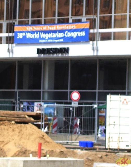 2008-07-31 01 Eo-tablo ĉe 38-a monda kongreso de vegetaranoj en Dresdeno