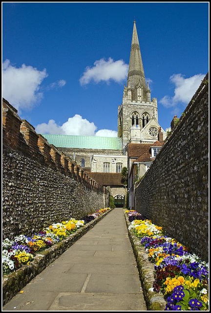 Cathedral Gardens Chichester