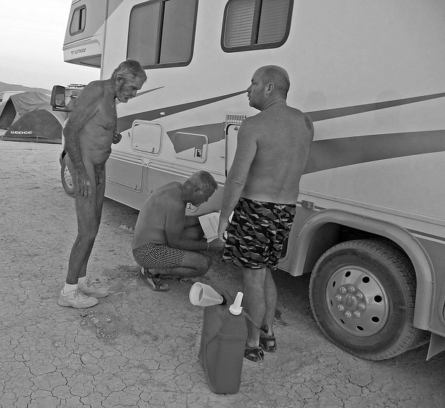 Adding Water To The RV (0569)