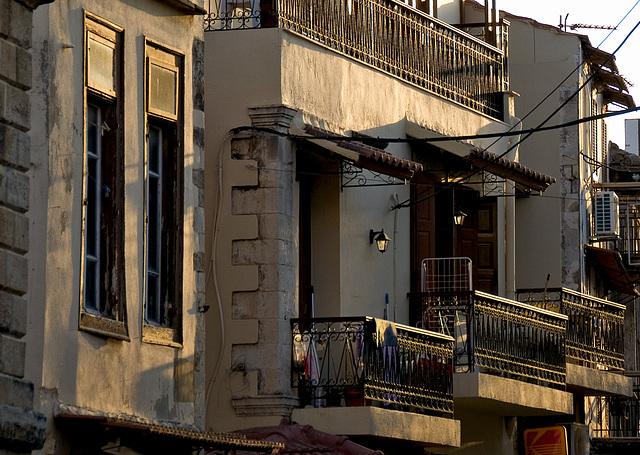 Balcony in evening light....