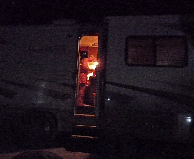 Spying Into The RV (0575)