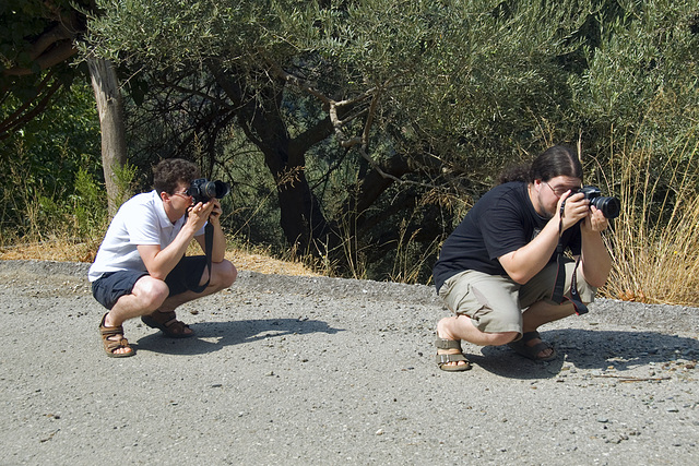 Photographers at work....