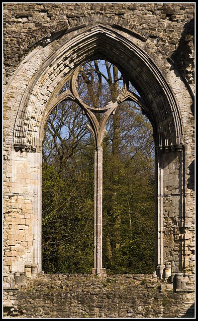 Netley Abbey Window