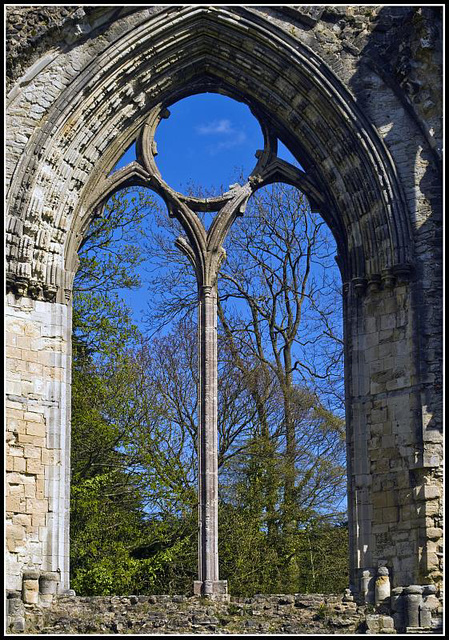 Netley Abbey Window