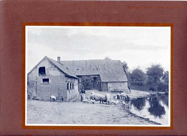 iferme dans le Craonnais 1910